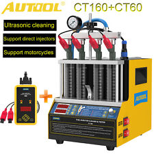 Autool Ct160ct60 Ultrasonic Fuel Injector Tester Cleaner For Gdi Tsi Injectors