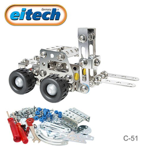 Mini Forklift Eitech Metal Construction Building Toy C51