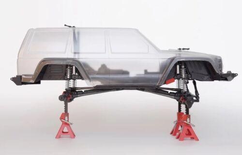 Rear Inner Fender Wells Front Mudguard for Axial SCX10 II AX90046 AX90047
