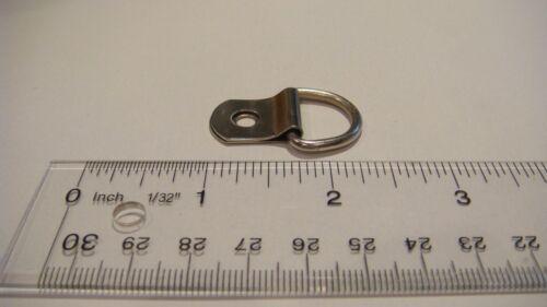 "SAMPLE 100 LARGE D RING 1 HOLE PICTURE HANGER 100 SCREW #6 3//8/"" FRAMING HANGERS"