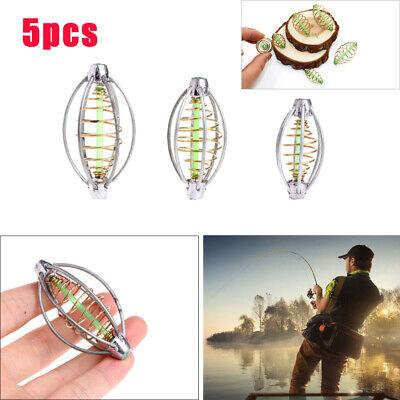 10Pcs//Set 6 Wire Carp Fishing Cask Feeder Coarse Bait Fishing Sinker Tackle Lead