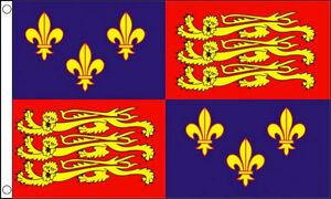 ROYAL-STANDARD-ENGLAND-FLAG-5-039-x-3-039-1405-1603-16th-Century-King-Richard-Banner