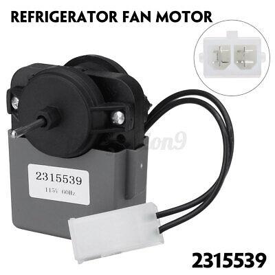 Replacement part for Whirlpool Kenmore Refrigerator 2219689,AP3996841,2225625,W10438708,WP2315539 2315539 Refrigerator Evaporator Fan Motor