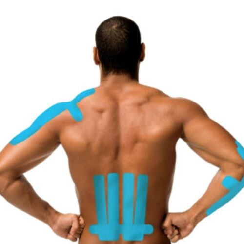 6x Kinetic Kinesiology Tape Sports Therapy Injury Muscle Repair Rehab Physio 5cm