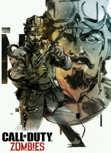 "Call Of Duty Zombies Chronicles Nikolai HQ Art Silk Poster 13×20/"" 27×40/"" 32×48/"""