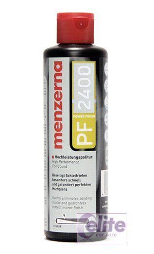 Menzerna Power Finish Polish - PF2400 - P0 203s - 250ml - Light to Medium Cut