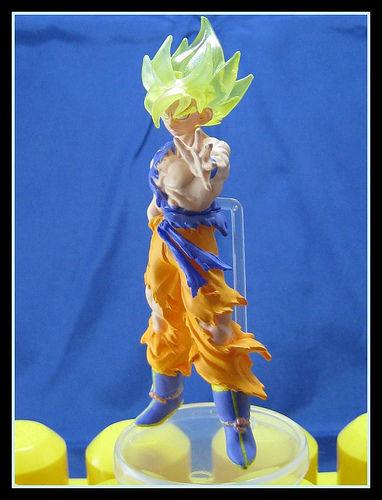 HG Special Fight 1 Dragonball Dragon ball Z Gashapon Figure Figurine SS Gokou