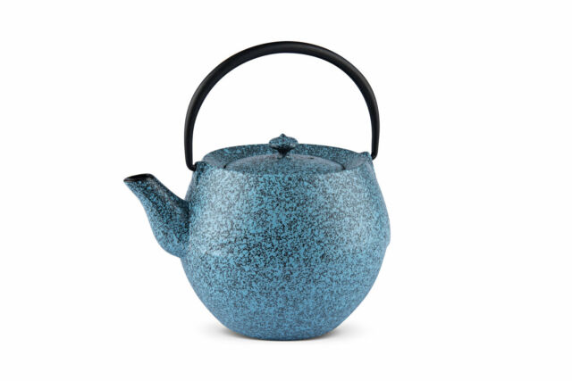 Gusseisen Teekanne Iruma 1,0 ltr himmelblau NEW COLLECTION!! MAOCI