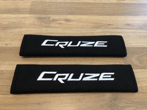 2X Seat Belt Pads Gift Chevrolet Cruze LS LT Ltz Vcdi TD 1.6 1.8 2.0 Station TDI