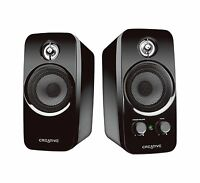 Creative Inspire T10 2.0 Multimedia Speaker System With Basxpor... Free Shipping