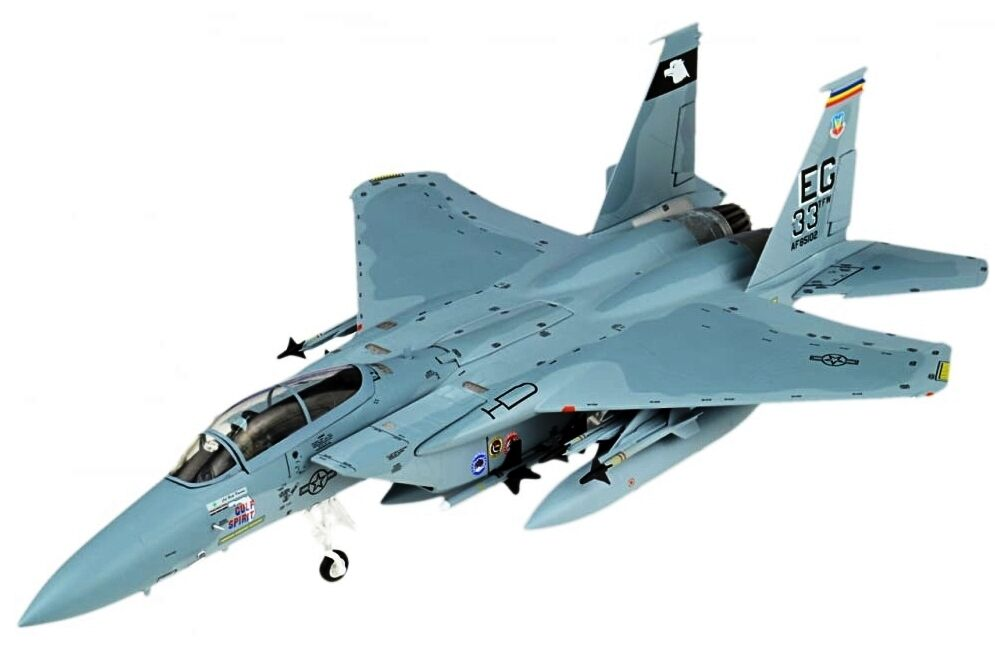 JCW72F15002 1/72 F-15c Eagle 33rd Taktisch Fighter Wing Wüstensturm 1991