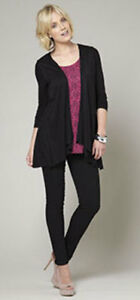BNWT-2-IN-1-LONG-SLEEVE-TOP-BY-BEAUTIFUL-YOU-TG-BLACK-PRINT-SIZE-12