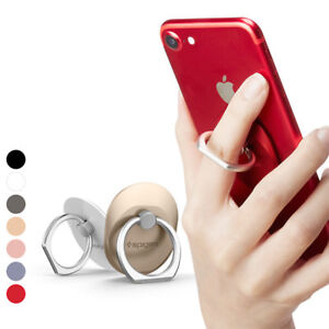 on sale 59625 7b271 Details about 360° Phone Ring Spigen [Style Ring] Finger Ring Grip Stand  Holder Car Mount