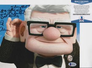 Ed-Asner-Up-Elf-Signed-Autograph-8x10-Photo-W-Inscription-Beckett-BAS-COA-14