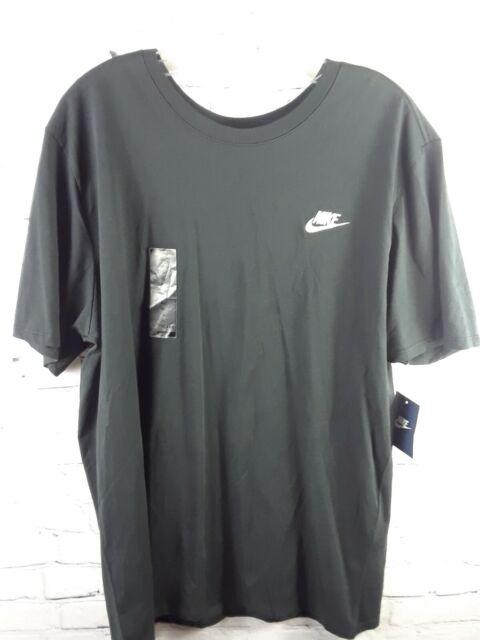 Men's Nike The Nike Tee athletic cut T-Shirt  XL Black NWT