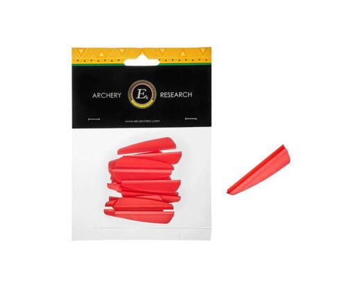 """EK Archery R9 Vanes 2.0/""""\Neon Red 2 Packs"""