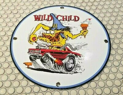 Ed Roth Rat Fink Style WARNING for My Tools Tin Metal Sign Mechanic ODD RODS