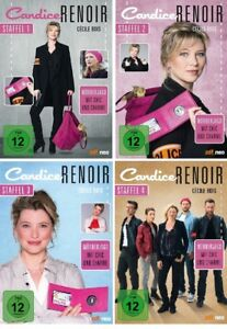 13 DVDs * CANDICE RENOIR - STAFFEL / SEASON 1 + 2 + 3 + 4 IM SET # NEU OVP &
