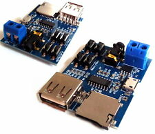 TF card U disk MP3 Format decoder board amplifier decoding audio Player module Z