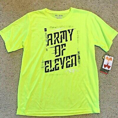 Under Armour HeatGear UA Boy/'s Armour UP T-Shirt Youth 1242878 Choose Red Grey