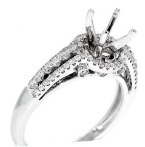 Halo-Engagement-Ring-Setting-VS1-Diamond-0-52ct-18k-White-Gold