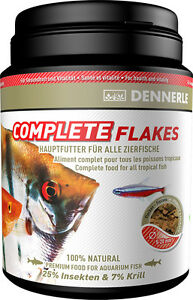 Dennerle-Premium-Fish-Food-Complete-Gourmet-Flakes-1000ml-for-All-Fish-BULK