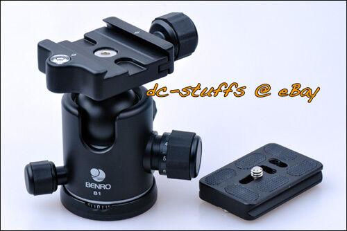 Benro B1 Camera Ball Head & QR Plate Package suit ArcaSwiss