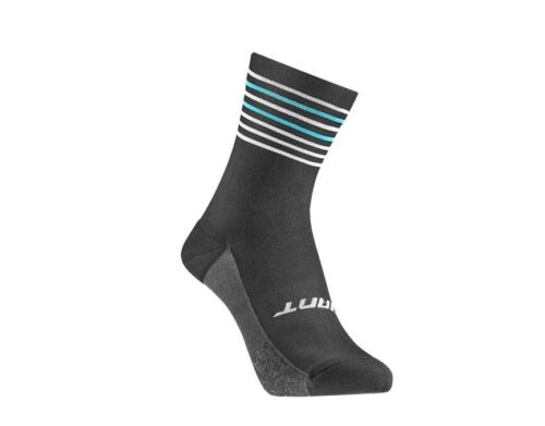 Giant bikes race day cycling socks 39-42 Black Blue road mtb official NEW