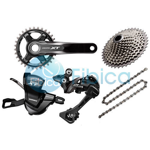 Nuevo 2019 Shimano Deore XT M8000 11s grupo Groupset 30 32 34t 170 175mm 40-46t