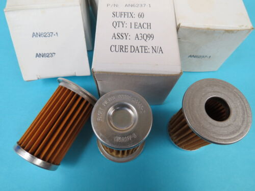 AN6237-1 Filter Replacement Element Aircraft Lot of 3 each