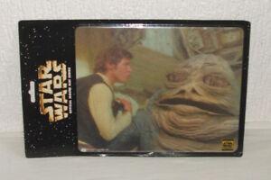 Doux Star Wars Official Mouse Mat Series - Uk 1997 - Sw2 - Han Solo & Jabba The Hutt Acheter Un Donner Un