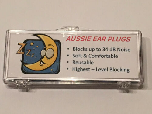 NRR 34 PERFECT SNORING NOISE BLOCKOUT CPAP SLEEP 2 or 6 Pairs Ear Plugs 1