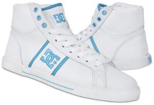 DC Bella Le 303011 Turnschuhe Damen Sneaker Freizeitschuhe Leder Gr 37-42 weiß
