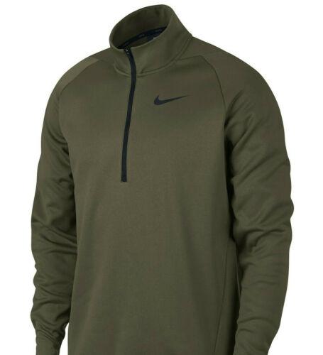 395 Olive Nike Mens Training Long Sleeve 1//4 Zip Pullover LT,XLT,3XL,3XLT,4XLT