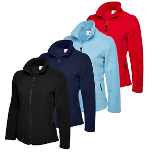 Uneek UC607 Womens Ladies Fleece Jacket Outdoor Walking Coat Anti Pill Plus Size