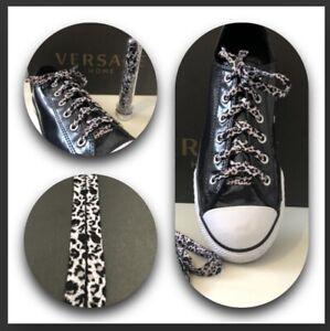 Leopard Print shoe laces | eBay