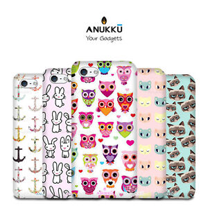 Custodia-Cover-Animali-Cartone-Per-Apple-iPhone-4-4s-5-5s-5c-6-6s-7-Plus-SE