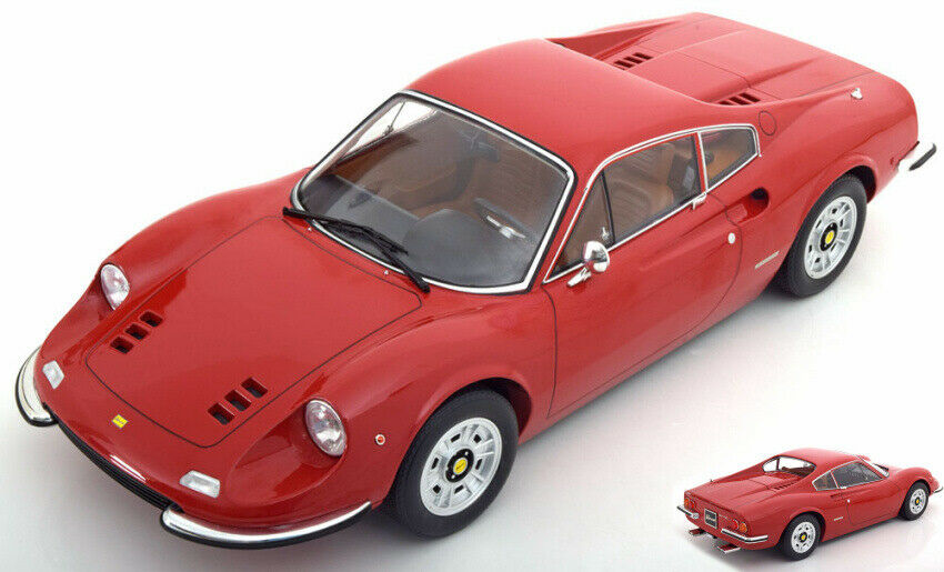 Ferrari 246 Gt Dino 1973 rouge 1 12 Model KK SCALE