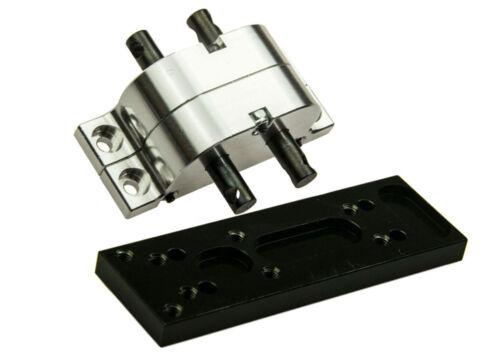 Transfer Case Verteilergetriebe /& Montageplatte für Scx10 D90 RC 4wd 1:10 RC Car