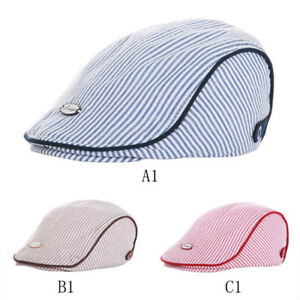 056764d6 Image is loading Fashion-Toddler-Newborn-Baby-Kid-Boys-Striped-Beret-