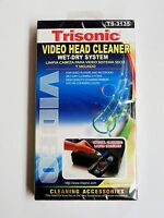 2 Pack Video Head Cleaner For Vhs Vcr Player Recorder