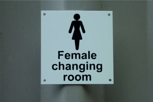 Bathroom Signs Gym male/female changing room cloakroom/toilet/bathroom/gym/health