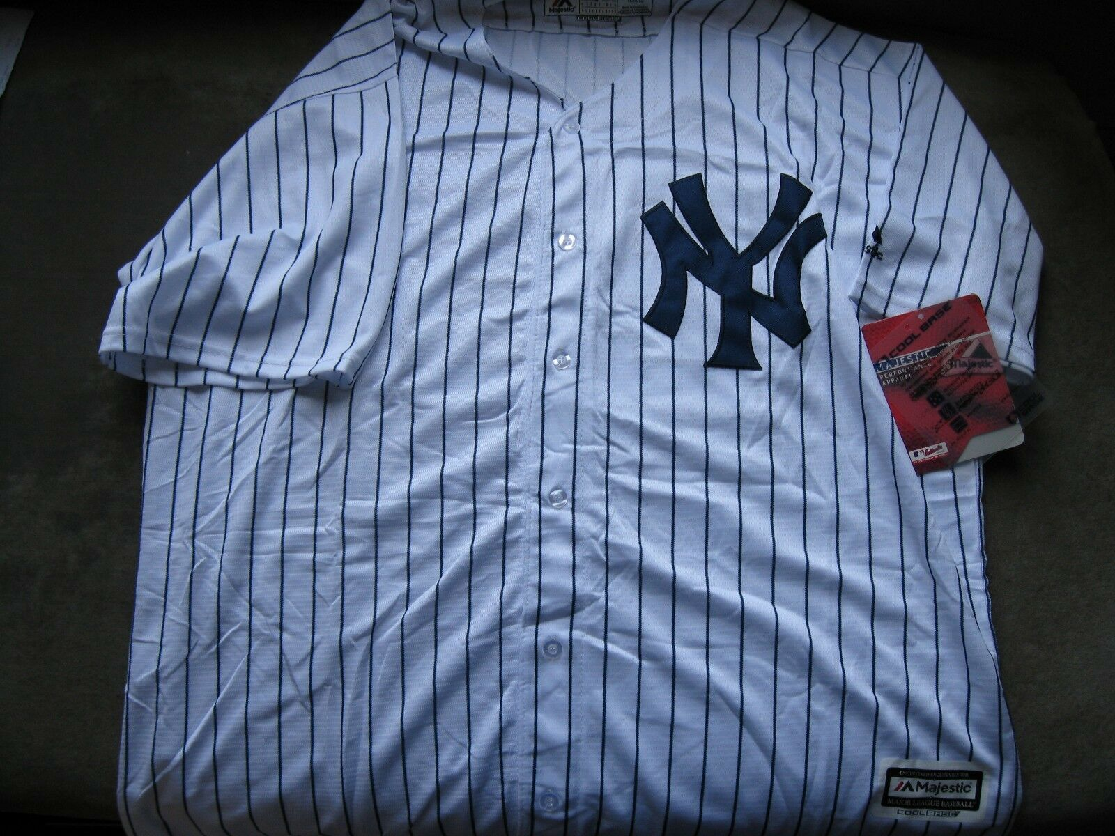 NY Yankees Glayber Torres Home Jersey XXL