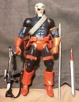 Deathstroke The Terminator  dc Universe Classics Wave 3 grundy Baf figure  Loose