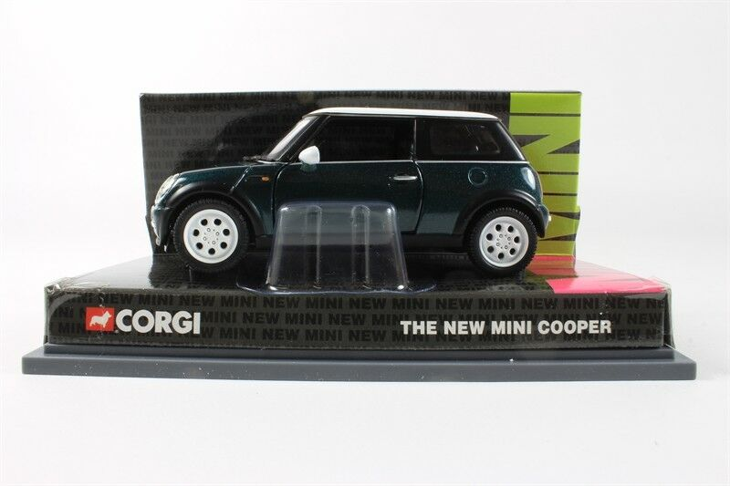 CORGI CC86506 MINI COOPER diecast model car British Racing green 1 36th scale
