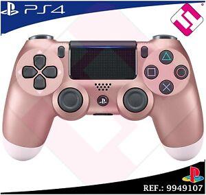 MANDO-PS4-DUALSHOCK-ROSE-GOLD-PLAYSTATION-4-SONY-ROSA-ORO-WIRELESS-100-ORIGINAL