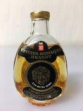 Mignon Miniature Vecchia Romagna Brandy Etichetta Nera Buton 30cc 40% Vol F.