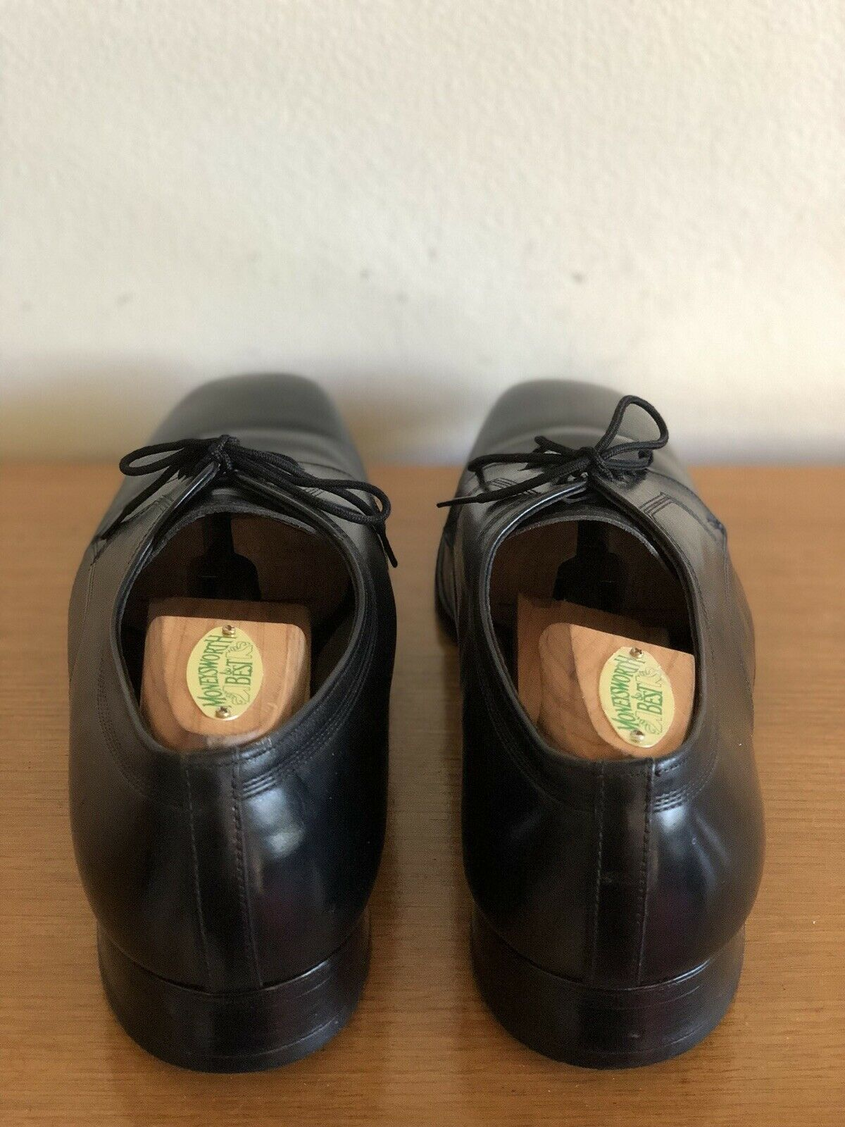 Florsheim Australia    Lace-up Brogues Black Leather Welted - Size 9 EE Standard c533e6