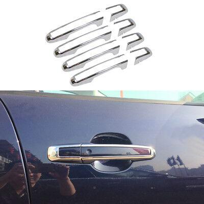 8pcs ABS Chrome Car Door Handles Cover Trim Fit Jaguar F-PACE XFL 2016 2017 SUV