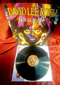 David Lee Roth – LP Eat 'Em And Smile Warner Bros. Records – 1-25470, NM/VG